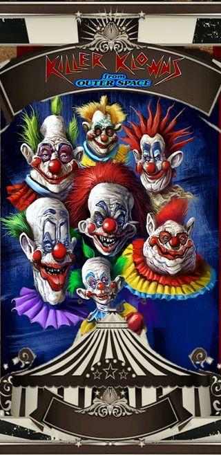 Обои на телефон киллер, фильмы, ужасы, космос, клоуны, klowns, circus, b movie