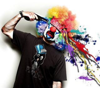 Обои на телефон blow, hd, shot, wow, color shot, крутые, новый, цветные, лучшие, клоун