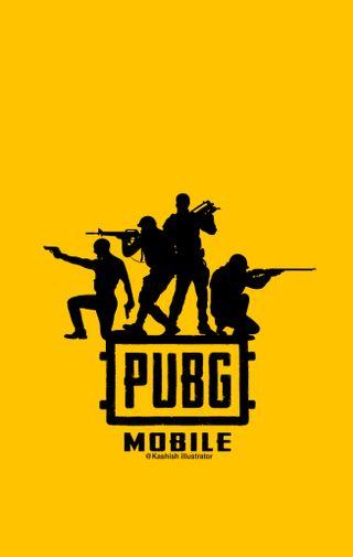Обои на телефон мобильный, черные, пабг, красые, желтые, yellow and black, pubg, kashishillustrator, kashish illustrator