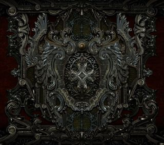 Обои на телефон вампиры, черные, темные, стена, орнамент, обложка, готы, готические