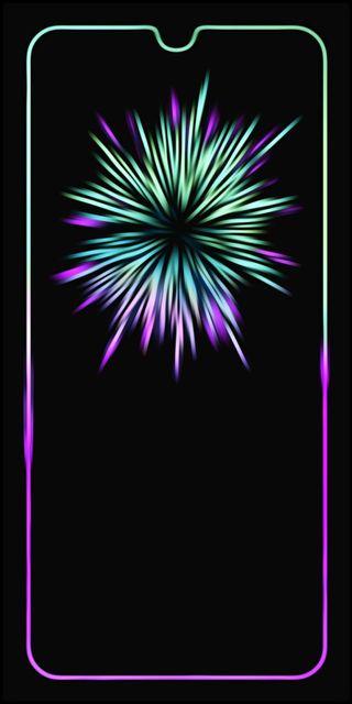 Обои на телефон сяоми, черные, синие, зеленые, xiaomi note 8, puple
