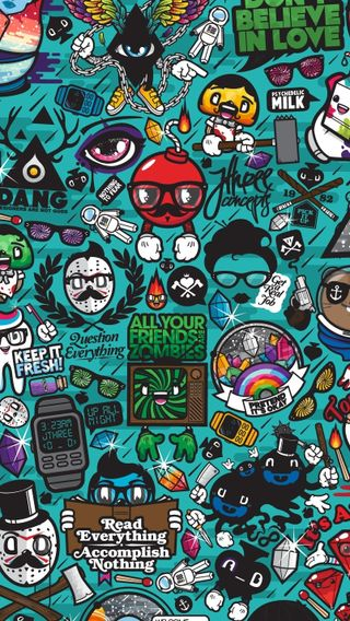 Обои на телефон символы, рисунки, знаки, diversity, colorfu