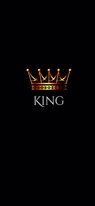 Обои на телефон цитата, король, корона