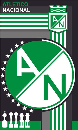 Обои на телефон колумбия, футбол, зеленые, atltico nacional, atletico nacional 7