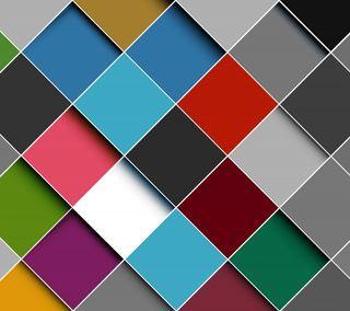 Обои на телефон геометрия, цветные, куб, красочные, rhomb, colorful rhombs
