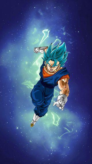 Обои на телефон супер, синие, мяч, дракон, вегито, аниме, vegito blue, dragon