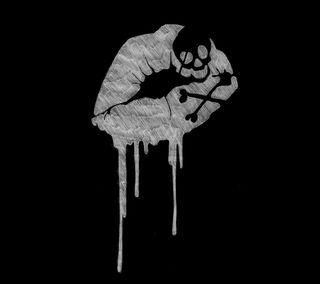 Обои на телефон смерть, поцелуй, темные, kiss of death ver 02
