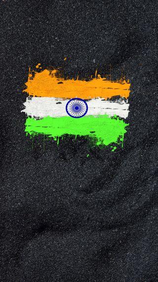 Обои на телефон индия, цветные, флаг, триколор, абстрактные, republic