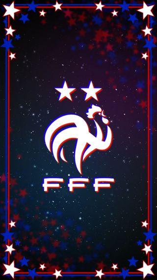 Обои на телефон франция, футбол, логотипы, fff, etoiles