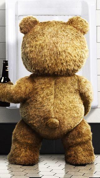 Обои на телефон медведь, фильмы, тед, комедия