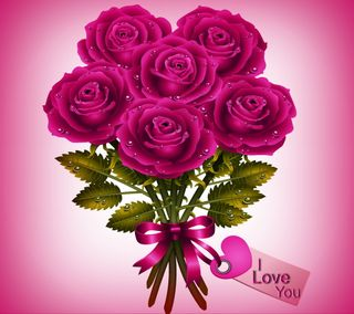 Обои на телефон love, любовь, абстрактные, фиолетовые, ты, розы, векторные