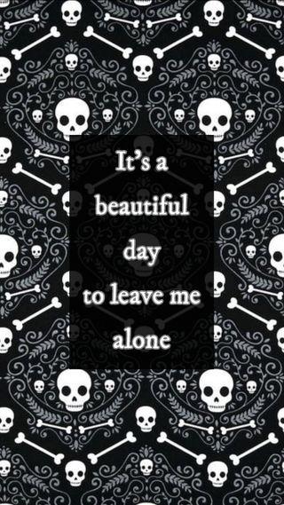 Обои на телефон панк, шаблон, чувства, череп, цитата, прекрасные, настроение, день, готы, skeletons, damask, a beautiful day
