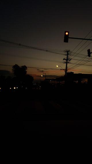 Обои на телефон трафик, темные, закат, dash, dark sunset