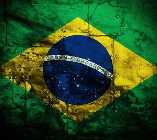 Обои на телефон флаг, металл, бразилия, brasil on metal 2, bandeira