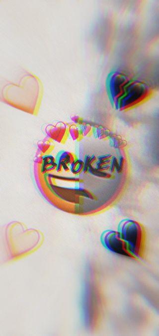 Обои на телефон сломанный, сердце, idk, broken hearts