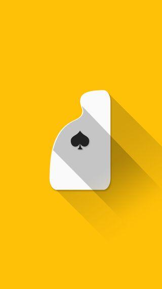 Обои на телефон туз, покер, карты, плоские, материал, playing cards, amber