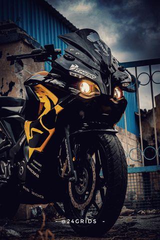 Обои на телефон мотоциклы, мотоцикл, stunt, rs200, mujju24, motor, bikewallpaper, 24grids, 24bikers