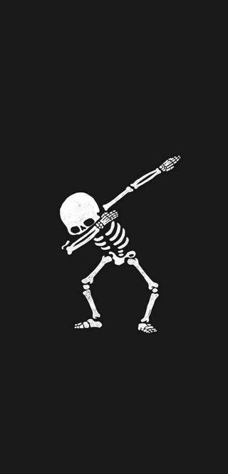 Обои на телефон сильный, скелет, крутые, даб, skeleton dab