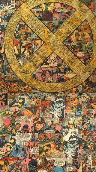 Обои на телефон люди икс, супергерои, росомаха, мстители, марвел, люди, логотипы, комиксы, x-men logo, marvel