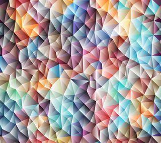Обои на телефон геометрия, шаблон, треугольник, мозаика, красочные, арт, абстрактные, art, abstract geometry