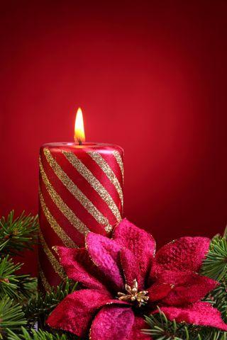 Обои на телефон свечи, фиолетовые, торт, счастливые, свеча, свет, рождество, день рождения, год, happy, candle xmas