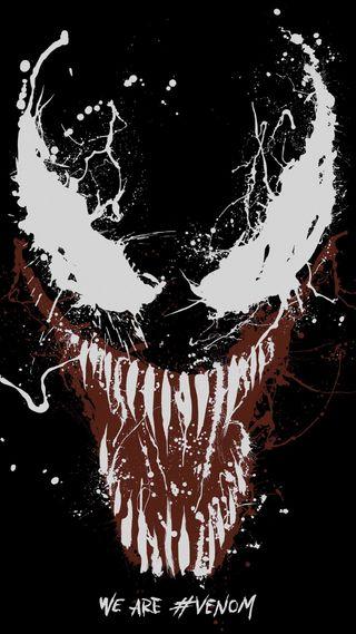 Обои на телефон мы, веном, арт, we are venom, venom artwork 5k