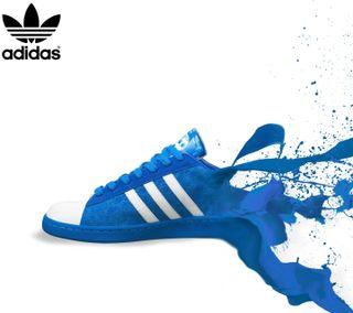 Обои на телефон обувь, синие, адидас, абстрактные, adidas