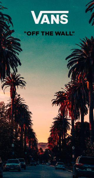 Обои на телефон стена, калифорния, vans california, vans cali, vans, off the wall