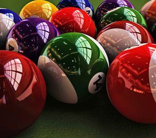 Обои на телефон сфера, мяч, pool, billiards, billiard, 3д, 3d