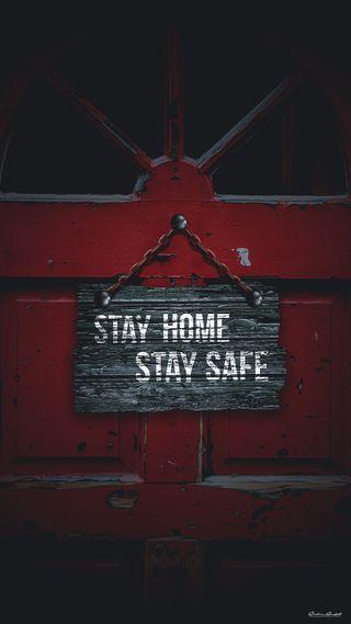 Обои на телефон corona virus, covid-19, lockdown, stay, stay home, stay safe, stay home stay safe, дом, вирус, корона