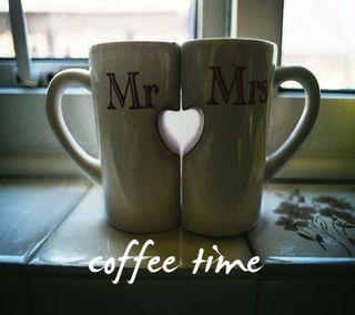 Обои на телефон кофе, время