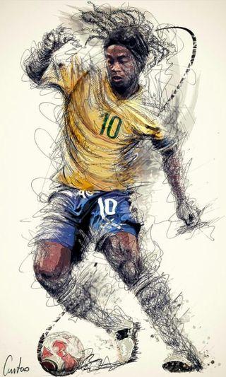 Обои на телефон футбол, мундиаль, бразилия, барселона, футбольные, ronaldinho gauchor10, ronaldinho, r10, magia
