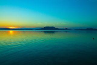 Обои на телефон утро, солнце, море, ночь, лето, закат, вода, sunset on sea