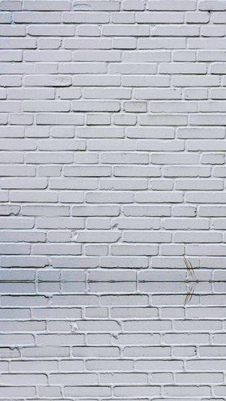 Обои на телефон кирпичи, стена, белые, white wall