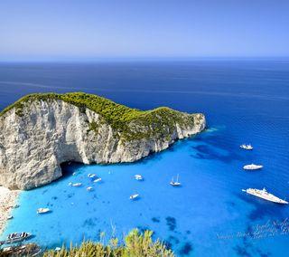 Обои на телефон природа, греция, greece qhd 001