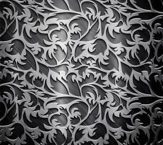 Обои на телефон metallic design, swirls, metallic swirls, дизайн, текстуры, металлические