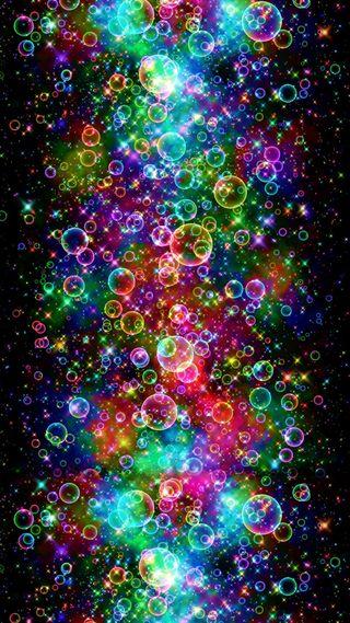 Обои на телефон пузыри, абстрактные, 2016