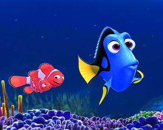 Обои на телефон рыба, фильмы, символы, океан, новый, немо, мультфильмы, море, дори, finding dory
