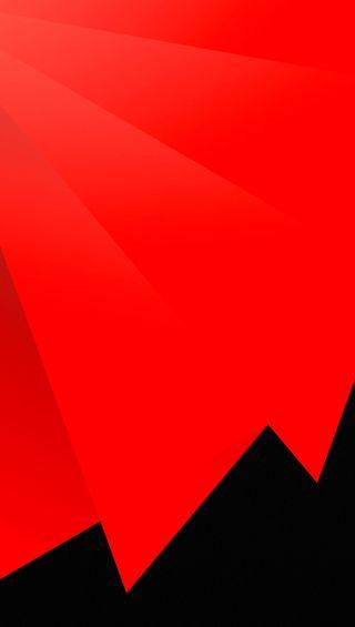 Обои на телефон яркие, чистые, черные, формы, простые, острый, красые, дизайн, sharp and red, hd