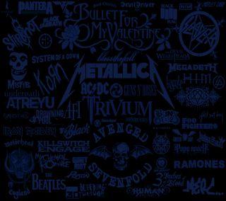 Обои на телефон рок, синие, музыка, металл, любовь, группы, names, love rock music 2