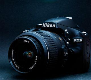 Обои на телефон камера, nikon d3200, nikon