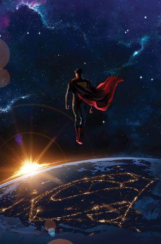 Обои на телефон пришелец, супермен, dc