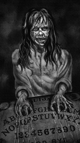 Обои на телефон ужасные, шаблон, хэллоуин, жуткие, доска, wicked, regan, ouija board, hd, exorcist, exorcism ouija board, 3д, 3d