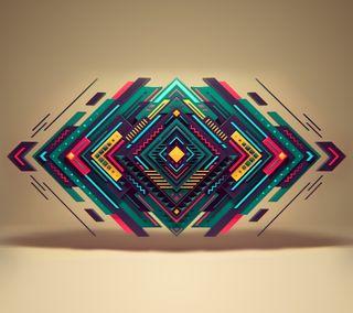 Обои на телефон 3d, абстрактные, 3д, квадратные, куб, формы, геометрия
