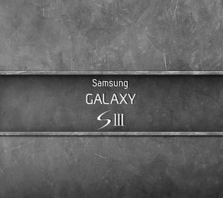 Обои на телефон металл, галактика, metal galaxy s3, galaxy s3