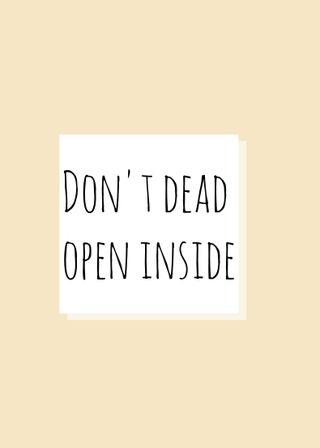 Обои на телефон открыто, домашний экран, экран блокировки, не, мертвый, дизайн, dont dead open insid