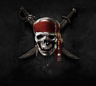 Обои на телефон пираты, логотипы