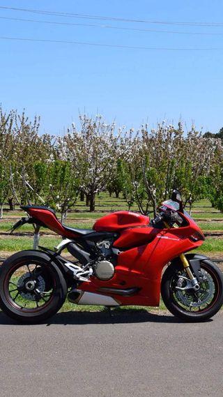 Обои на телефон мотоцикл, дукати, superquadro, panigale, ducati, desmodromic, 1199