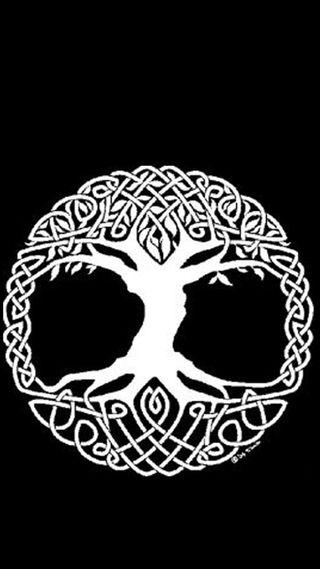 Обои на телефон викинги, тор, yggdrasil, wikinger, odin, baum