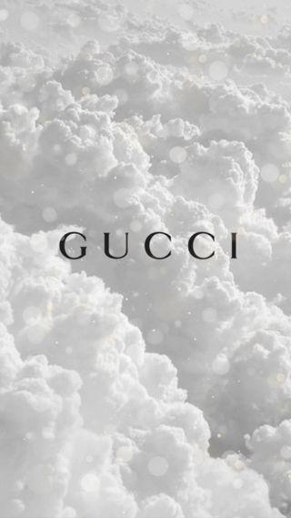 Обои на телефон облака, гуччи, блестящие, белые, gucci, fancy